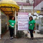 """Em 06/05/2017 - Fisiomama presente no evento """"Tomaz Flores Vive"""""""